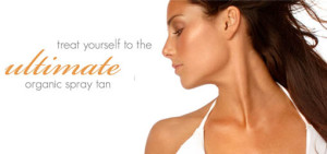 Organic Spray Tan - Let us bring the tanning salon to you